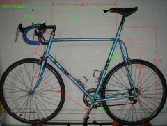 Les vélos de Thomas